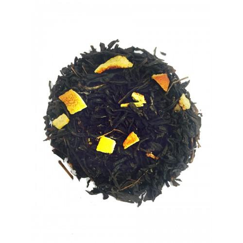 HERBATA EARL GREY & ORANGE 250G-  czarna liściasta z pomarańczą