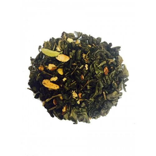 Herbata zielona z owocami  200 g liściasta