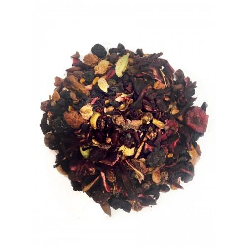 VEERTEA herbata owocowa  - dzika róża i hibiskus  240 g - susz owocowy