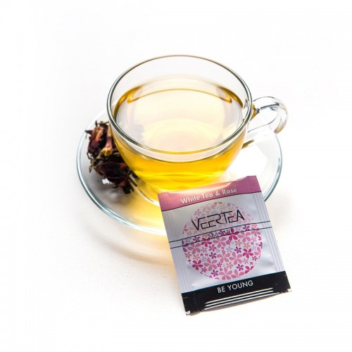 VEERTEA White Tea & Rose SPA LINE  100 saszetek