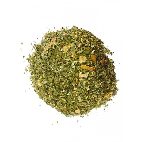 VEERTEA herbata Yerba Mate z trawą cytrynową 240 g - liściasta