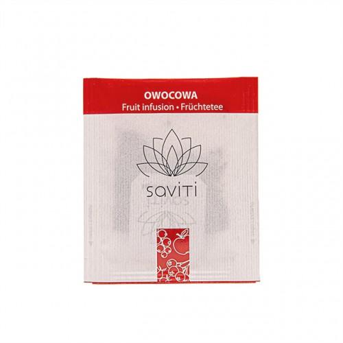 SAVITI herbata owocowa w saszetkach / kopertkach - 500 torebek