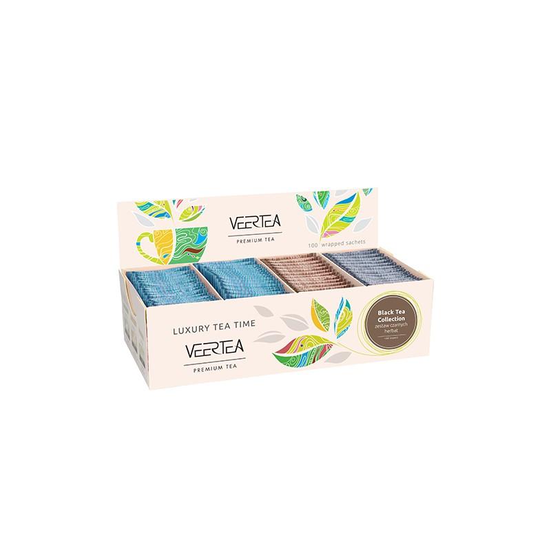 Kolekcja / zestaw herbat czarnych Veertea Premium 100 szt.