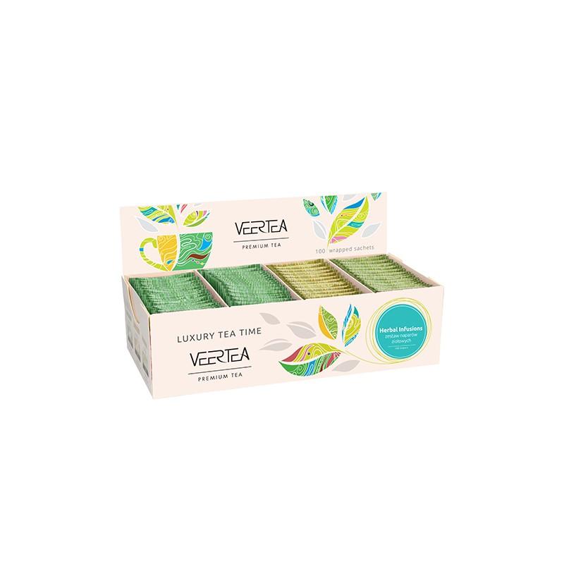 Kolekcja / zestaw herbat ziołowych Veertea Premium 100 szt.