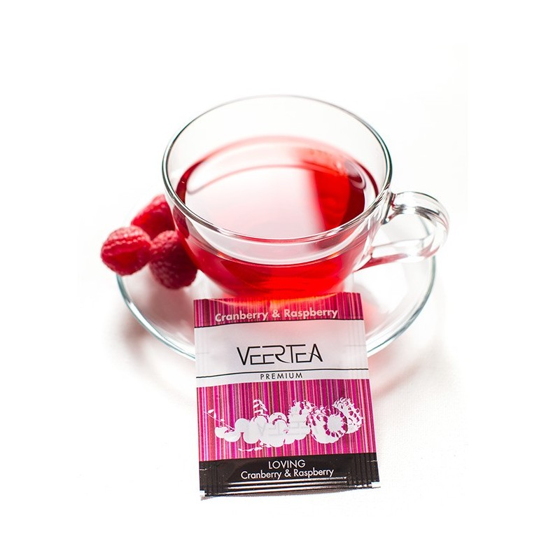 Herbata w kopertkach Veertea Loving Cranberry & Raspberry 2g